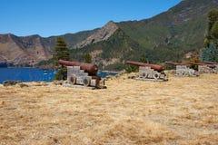 Ilha do crusoe de Robinson foto de stock royalty free