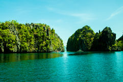 Ilha do EL Nido, Palawan, Filipinas Imagem de Stock Royalty Free