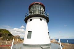 Ilha do farol e do coelho do ` u de Makapu Foto de Stock Royalty Free
