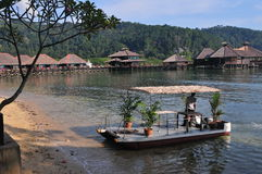 Ilha do gaya do barco Imagem de Stock