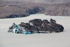 Ilha do gelo Imagem de Stock Royalty Free