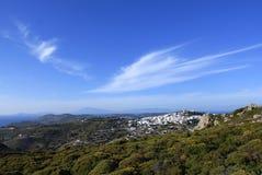 Ilha do grego de Patmos Foto de Stock