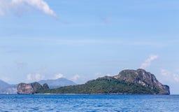 Ilha do helicóptero Imagem de Stock Royalty Free