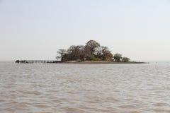 Ilha do kinte de Kunta Fotografia de Stock