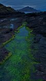 Ilha do litoral de Skye Foto de Stock Royalty Free