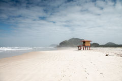 Ilha do Mel, Brazil. Ilha do Mel, Honey Island, is a warped whale-shaped stretch of land just over two miles off the coast of Brazil. It is an extraordinary Royalty Free Stock Photos