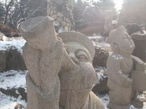 ilha do nami de Coreia Imagem de Stock
