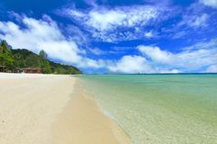 a ilha do paraíso no trang Tailândia Fotografia de Stock Royalty Free
