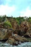 A ilha do pelicano imagens de stock