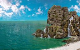 Ilha do pirata Foto de Stock