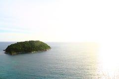 Ilha do por do sol de Phuket foto de stock