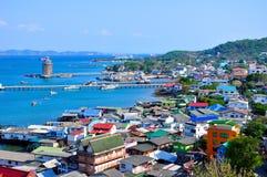 Ilha do ` s de Seside Vilage Sri Chang Fotos de Stock