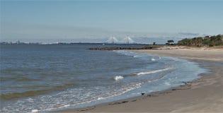 Ilha do ` s de Sullivan, South Carolina foto de stock royalty free