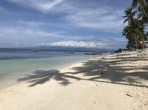 Ilha do siquijor da praia de Paliton imagem de stock royalty free