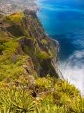 Ilha do sul de Madeira do litoral, Portugal imagem de stock
