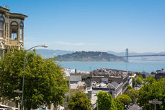 Ilha do tesouro e Yerba Buena, San Francisco Imagem de Stock Royalty Free