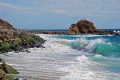 Ilha do tesouro perto do recurso da montagem, Laguna Beach  Foto de Stock Royalty Free