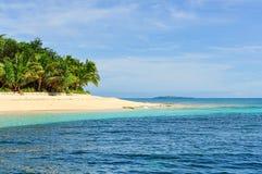 Ilha do vagabundo de praia em Fiji Fotos de Stock Royalty Free