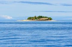 Ilha do vagabundo de praia em Fiji Foto de Stock Royalty Free