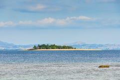 Ilha do vagabundo de praia em Fiji Fotografia de Stock