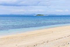Ilha do vagabundo de praia em Fiji Imagens de Stock Royalty Free