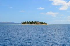 Ilha do vagabundo de praia, Mamanucas, Fiji Fotografia de Stock