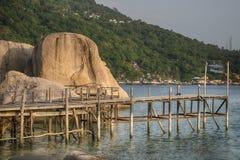 Ilha do yuan do nang do Koh, Surat, Tailândia fotografia de stock royalty free