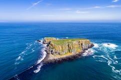 Ilha dos carneiros em Irlanda do Norte, Reino Unido Fotografia de Stock Royalty Free