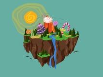 Ilha dos doces Imagem de Stock Royalty Free