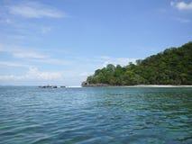 Ilha e o mar Fotos de Stock