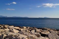 Ilha e Sorrento de Capri Imagem de Stock