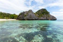 Ilha em ferradura Foto de Stock