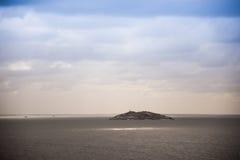 Ilha em Laguna - Santa Catarina - Brasil imagem de stock royalty free