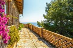 Ilha em Taormina, Sicília, Itália Fotografia de Stock Royalty Free