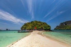 Ilha em Thailan imagem de stock