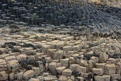 Ilha Escócia de Staffa da caverna de Fingals imagem de stock