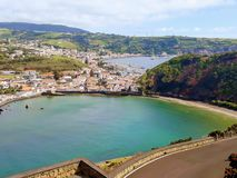 Ilha Faial Acores Porto paisagem
