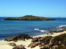 Ilha faz Pessegueiro, Portugal Fotos de Stock Royalty Free