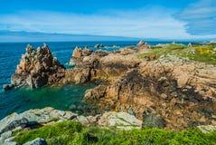 Ilha france de Brehat fotografia de stock royalty free