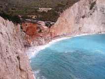 Ilha Grécia de Porto Katsiki Lefkas Fotografia de Stock Royalty Free