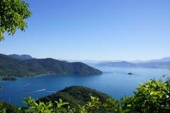 Ilha Grande Brasil. Hike Ilha Grand Brasil stock photo
