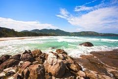 Ilha grande Brazil Obrazy Stock