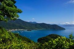 Ilha Grande, Brazil. A beautiful bay on the island of Ilha Grande, Brazil Stock Image