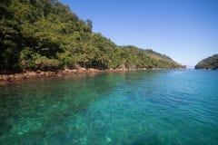 Ilha Grande, Rio de Janeiro, Brazil. The green waters of Big Island, Rio de Janeiro State, Brazil Royalty Free Stock Image