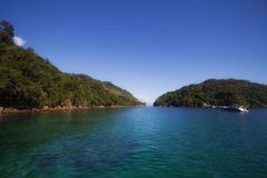 Ilha Grande, Rio de Janeiro, Brazil. Ilha Grande is a tropical island at the state or Rio de janeiro, Brazil Stock Photo