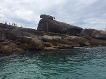 Ilha &#x28 grandioso; brazil) imagens de stock