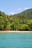 Ilha grandioso: O Praia da praia galopa mendes, estado de Rio de janeiro, Brasil fotos de stock