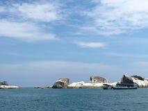 Ilha Indonésia de Belitong Imagens de Stock