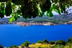 Ilha Korcula Fotografia de Stock