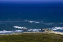 Ilha litoral do Mocha da borda, o Chile imagens de stock